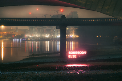 SOMEBODYELSE, The 1975. Photographer: David Drake. Art Director/Designer: Samuel Burgess-Johnson